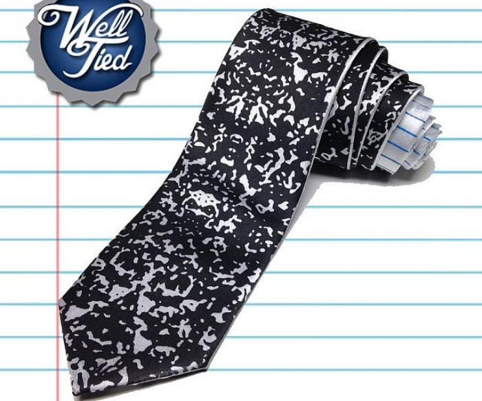 Composition Notebook Tie