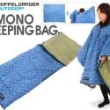 Kimono Sleeping Bag: Wear It, Sleep In It, Stay Warm