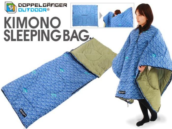 Kimono sleeping bag