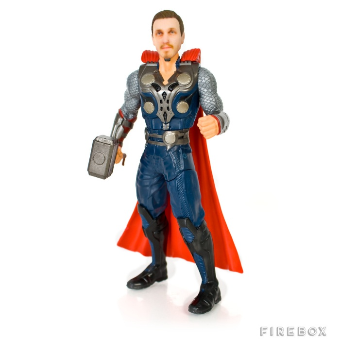 Personalised Superhero Action Figures1