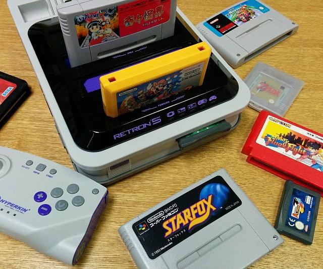 Retron 5 for non stop retro gaming in one console ohgizmo - Retro game emulator console ...