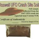 Why Invest in Land When You Can Have Your Own UFO Crash Site Soil?