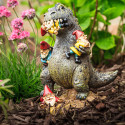 Garden Godzilla Eats Your Gnomes