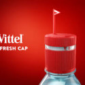 Stay Hydrated with the Timer-equipped Vittel Water Bottle Cap