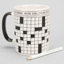 Crossword Puzzle Mug: Want a Puzzle With Your Coffee?