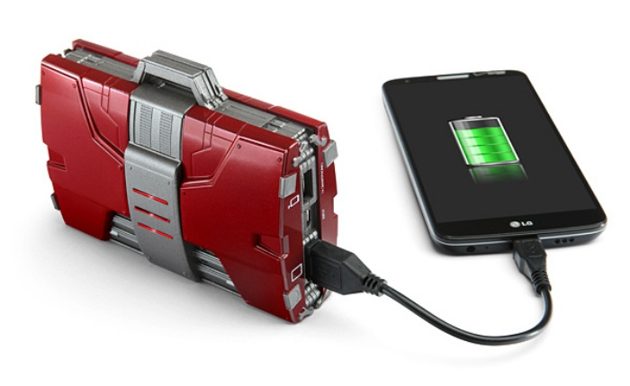 Iron Man Mark V Armor Suitcase Mobile