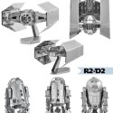 Metallomaniac: Star Wars 3D Metal Model Kits