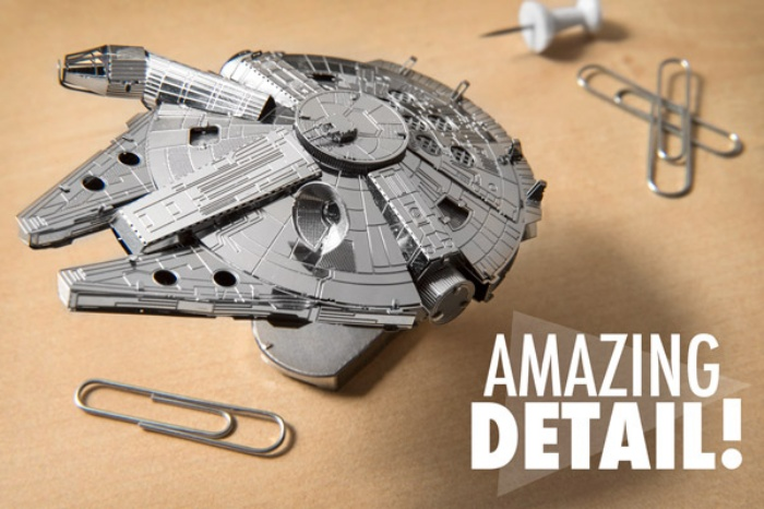 Star Wars 3D Metal Model Kits1