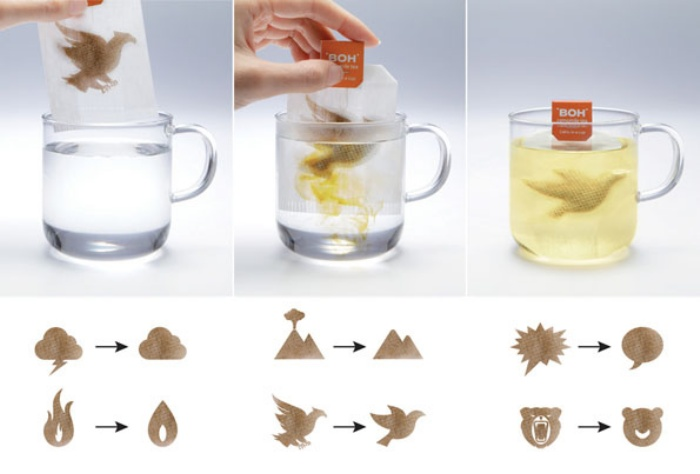 Transforming Tea Bags