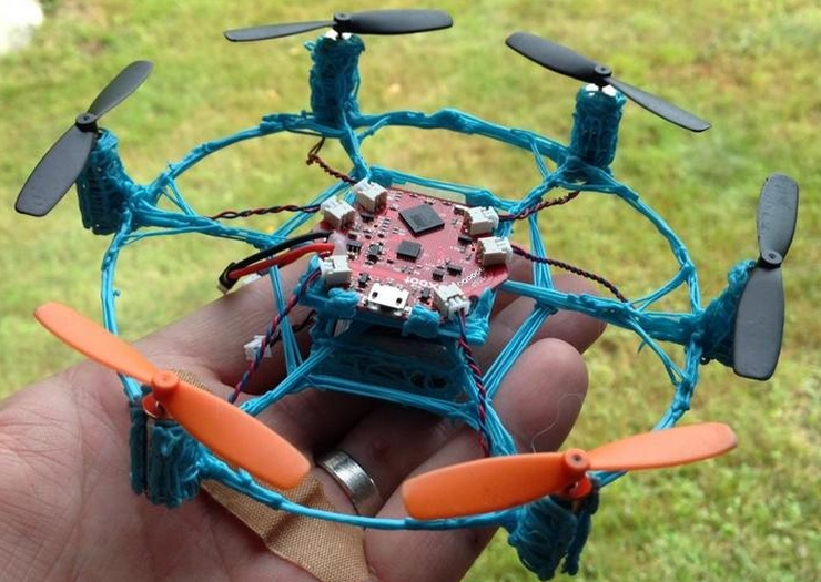 3D printed drone made using 3Doodler pen
