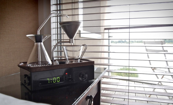 Barisieur Coffee Maker Alarm Clock