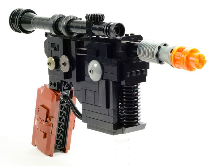 Electronic Lego gun