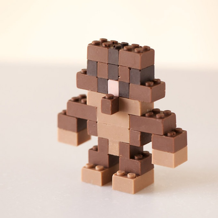 Functional Chocolate LEGO