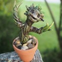 Awesome: We Are Handmade Little Groot Figurines