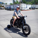 World's First Bacon-Powered Diesel Motorcycle Preparing For Cross Country Trip