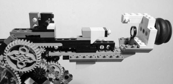 Lego microscope by Carl Merriam