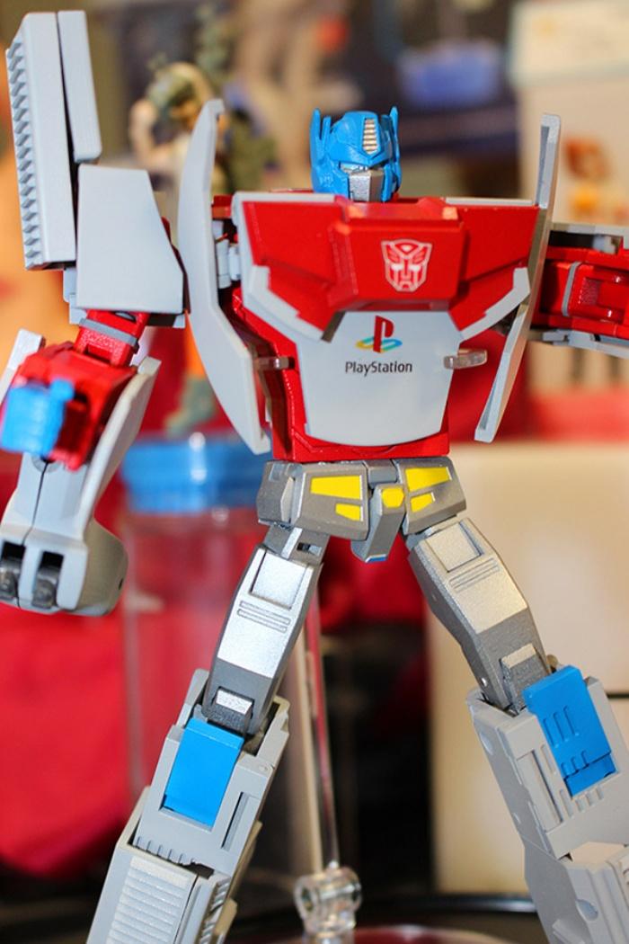 Retro Game Console Transformers