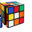 There's Nothing Puzzling About This Rubik's Cube Mini Fridge