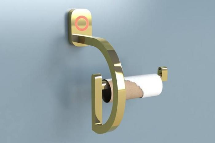 Smart Toilet Paper Holder