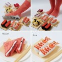 Sushi Socks: Looks Yummy Rolled Up and On Your Feet