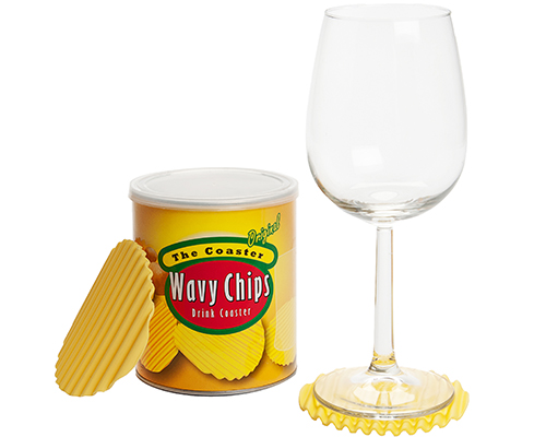 Can of Potato Chip Coasters