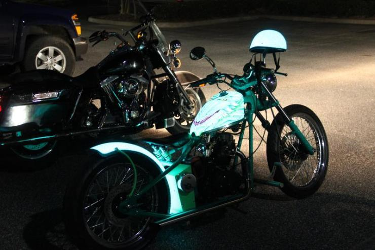 Led Lights For Motorcycle >> LumiLor LED Paint Is The Coolest Thing We've Seen In A While | OhGizmo!