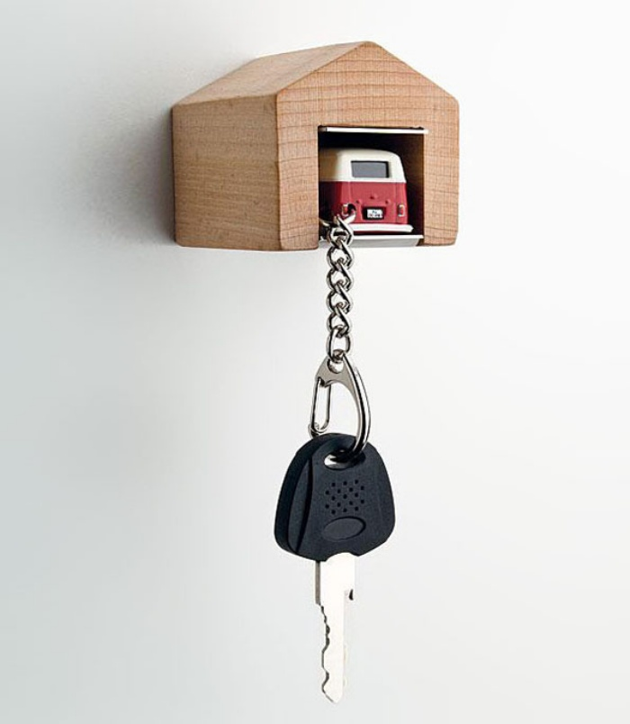 Mini Garage Car Keys