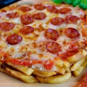 Caloriegasmic: Pizza With French Fry Dough