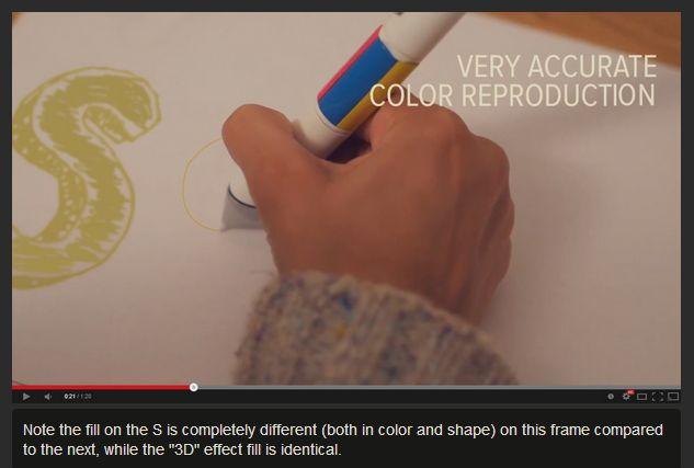 Scribble Pen Video Inconsistency