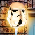 The Force is With Your Porch: Stormtrooper Porch Light Covers