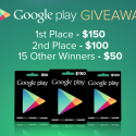 Deal of The Day: $1,000 Google Play Store Giveaway