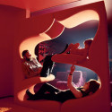 Verner Panton Living Tower Is A Vertical Sofa For The Rich