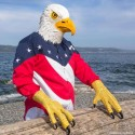 Go Animal This Halloween: Eagle Mask and Talon Gloves