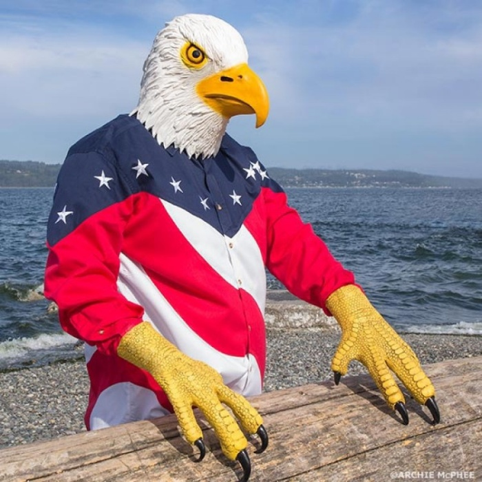 Eagle Mask and Talon Gloves