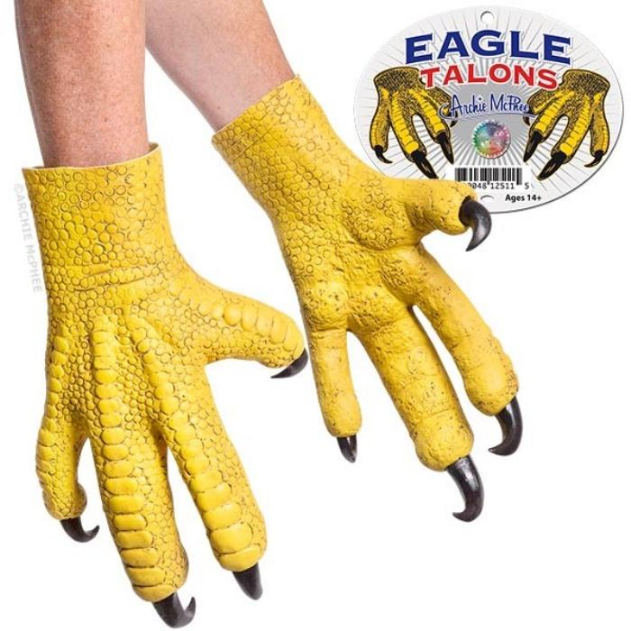 Eagle Mask and Talon Gloves1