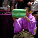 Win the Sumo Wrestling Match, Get a Giant Green Macaron