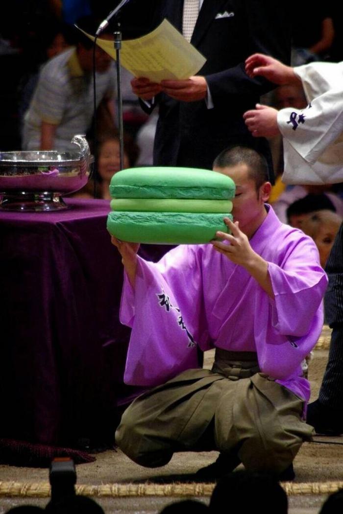 Giant Green Macaron Sumo PRize