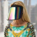 For the Unpicturables: Paparazzi Thwarting Reflective Visor