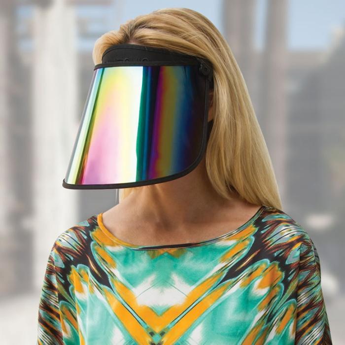Paparazzi Thwarting Reflective Visor