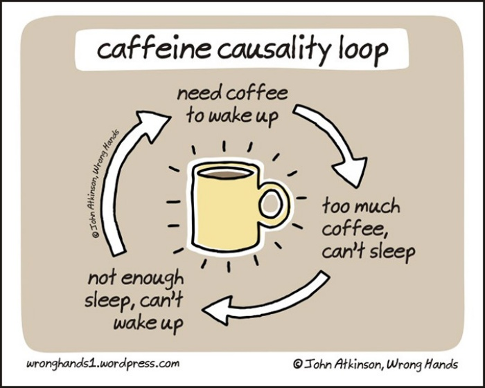 The Caffeine Causality Loop