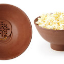 Kernel Filtering Popcorn Bowl Means No More Busted Teeth While Watching Movies