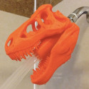 A 3D Printed T-Rex Shower Head Is Why 3D Printers Were Invented
