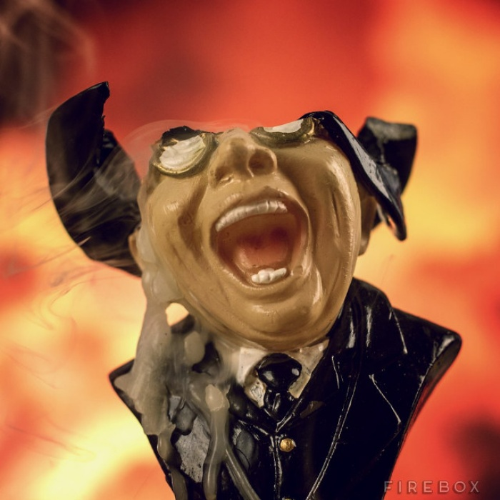 Raiders Of The Lost Ark Melting Nazi Face Candle