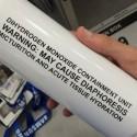 Beware of H2O: Scientific Side Effects Water Bottle