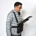 Shoulder Bag With Pop-Up Tablet Holder