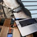 Wear It, Charge It: Cabelet Charging Bracelet