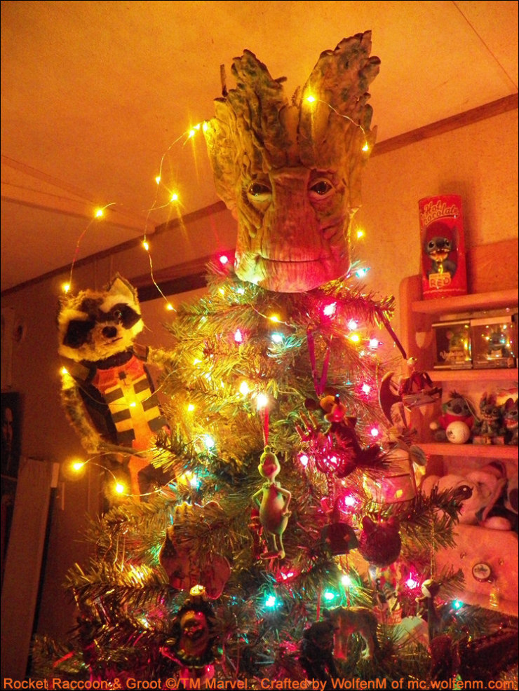 Custom Groot Tree Topper