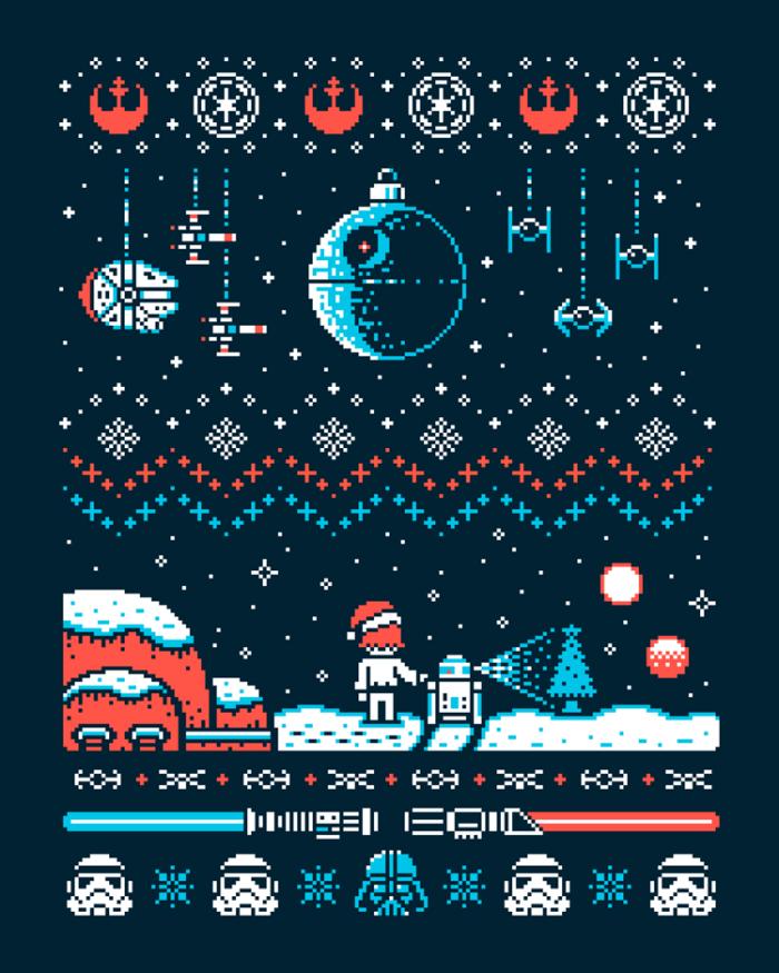 Geeky Christmas Sweatshirts1