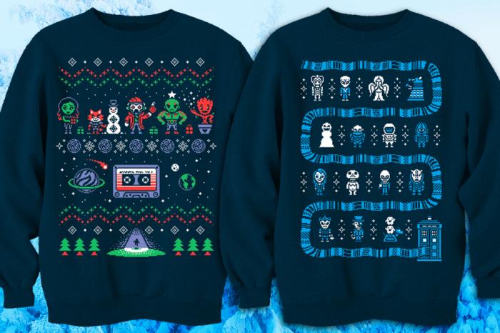 Geeky Christmas Sweatshirts3