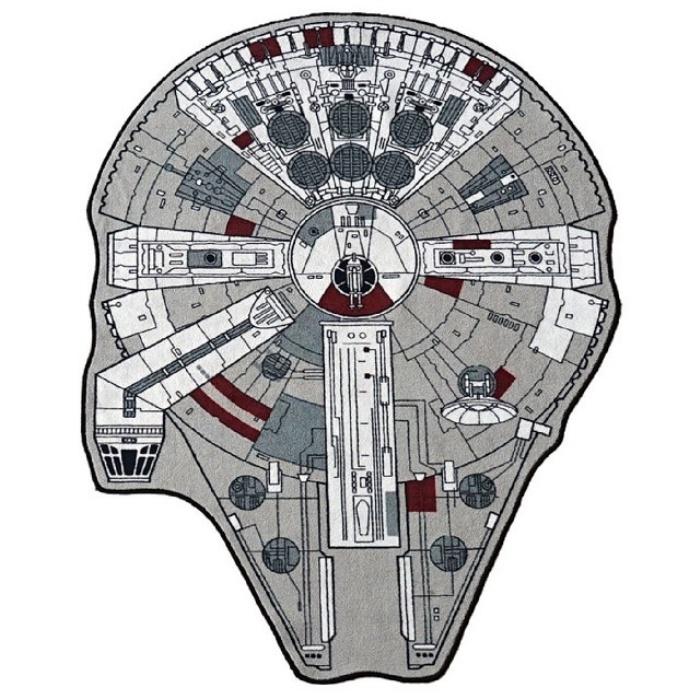 Millennium Falcon Area Rug1